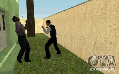 Party im Haus von CJ für GTA San Andreas achten Screenshot