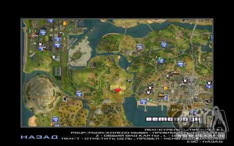 Partie des sans-abri pour GTA San Andreas septième écran
