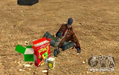 Partie des sans-abri pour GTA San Andreas sixième écran