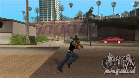 New Animations v4 Rapper Style Update pour GTA San Andreas deuxième écran