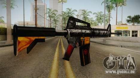 SFPH Playpark - Immortal M4A1 pour GTA San Andreas deuxième écran