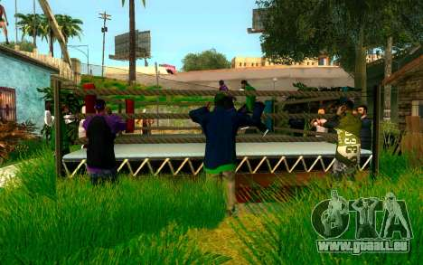 Le tournoi de Boxe à Grove ST pour GTA San Andreas troisième écran
