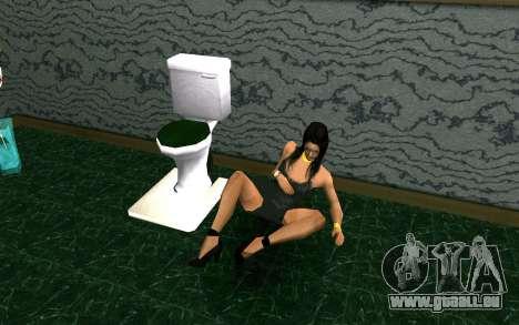 Party im Haus von CJ für GTA San Andreas siebten Screenshot