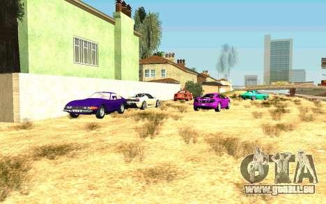 Party im Haus von CJ für GTA San Andreas zehnten Screenshot