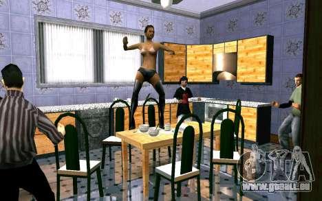 Party im Haus von CJ für GTA San Andreas zweiten Screenshot