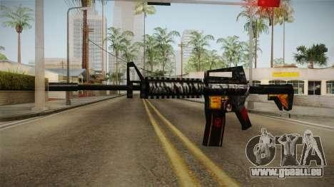 SFPH Playpark - Immortal M4A1 pour GTA San Andreas