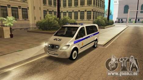 Mercedes-Benz Vito FSB pour GTA San Andreas