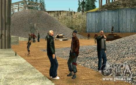 Partie des sans-abri pour GTA San Andreas