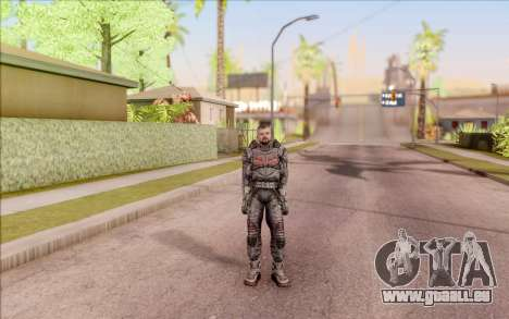 S. T. A. L. K. E. R. Zoulou pour GTA San Andreas deuxième écran