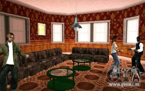 Party im Haus von CJ für GTA San Andreas her Screenshot