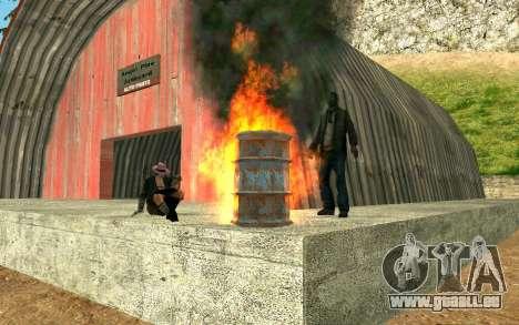 Partie des sans-abri pour GTA San Andreas troisième écran