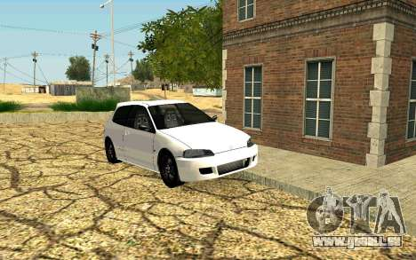 Die recovery-Dorf Fort Carson für GTA San Andreas her Screenshot