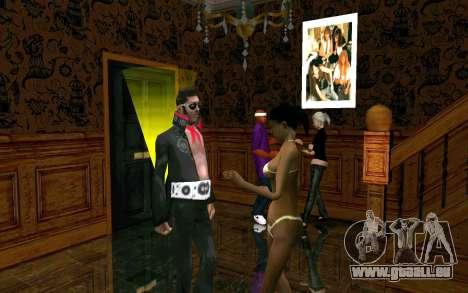 Party im Haus von CJ für GTA San Andreas dritten Screenshot
