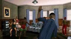 Partie dans la maison de CJ