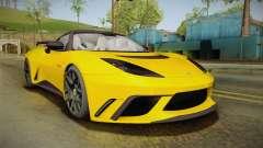 Lotus Evora GTE pour GTA San Andreas