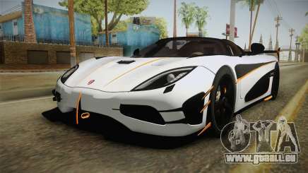 Koenigsegg Agera RS v3 pour GTA San Andreas