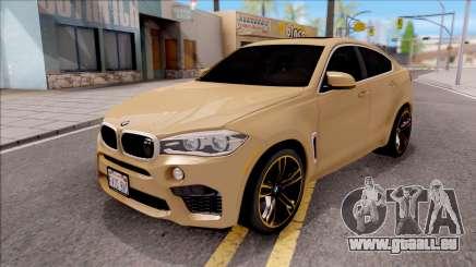 BMW X6M F86 2016 SA Plate für GTA San Andreas