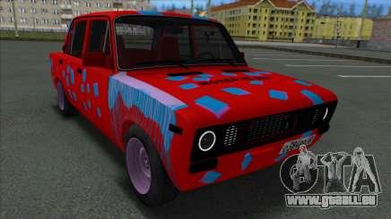 VAZ 2106 Shaherizada 2.3 GVR MTA pour GTA San Andreas