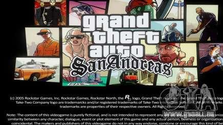 Loadscreens Remastered (HD) pour GTA San Andreas