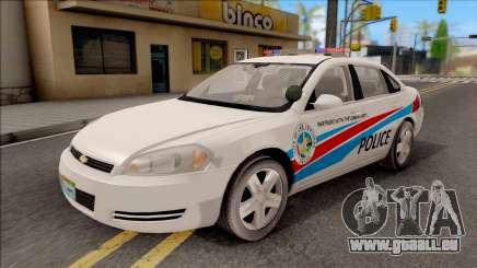 Chevrolet Impala Las Venturas Police Department für GTA San Andreas