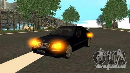 Mercedes-Benz C180 Armenian für GTA San Andreas
