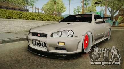 Nissan Skyline R34 GT-R 2002 für GTA San Andreas