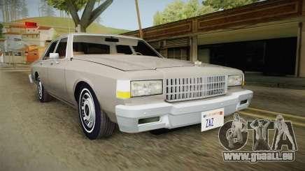 Chevrolet Caprice 1986 für GTA San Andreas