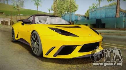 Lotus Evora GTE für GTA San Andreas