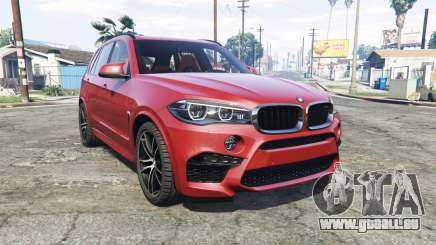 BMW X5 M (F85) 2016 [add-on] pour GTA 5