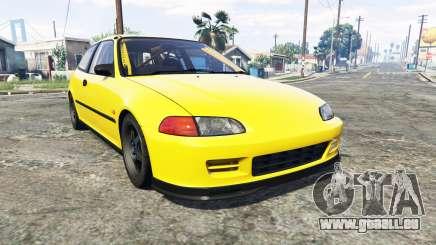 Honda Civic SIR (EG6) [add-on] für GTA 5
