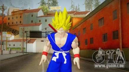Goku Original DB Gi Blue v3 pour GTA San Andreas