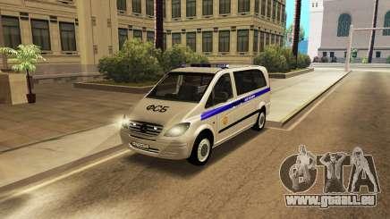 Mercedes-Benz Vito FSB für GTA San Andreas