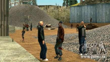 Party Obdachlose für GTA San Andreas