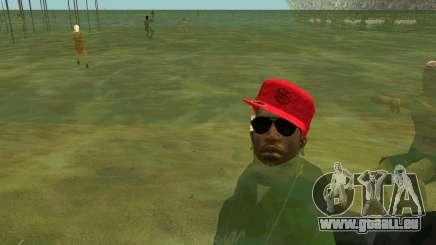 Auf die Strände, die Menschen schwimmen im Wasser für GTA San Andreas