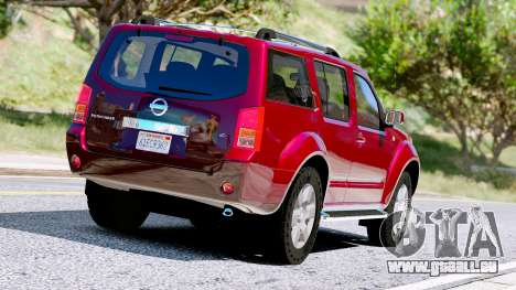 GTA 5 Nissan Pathfinder 2007 Rückansicht