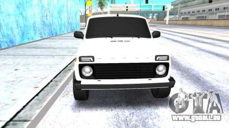 VAZ 2121 Armenian pour GTA San Andreas laissé vue
