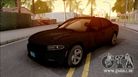 Dodge Charger Unmarked 2015 pour GTA San Andreas