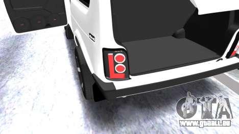 VAZ 2121 Armenian pour GTA San Andreas vue de côté