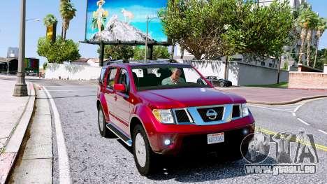 Nissan Pathfinder 2007 für GTA 5