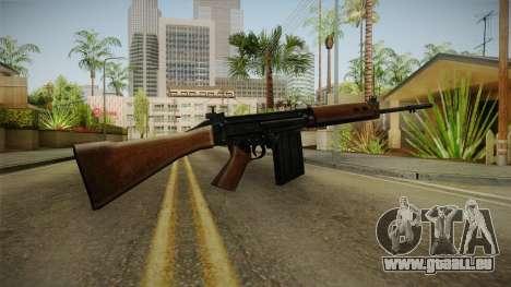 Insurgency FN-FAL Assault Rifle pour GTA San Andreas deuxième écran