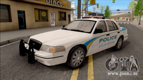 Ford Crown Victoria 2007 Altoona PD pour GTA San Andreas