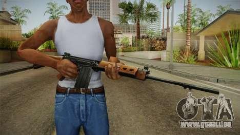 Insurgency FN-FAL Assault Rifle pour GTA San Andreas troisième écran