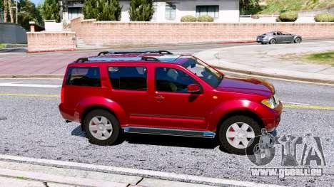 GTA 5 Nissan Pathfinder 2007 linke Seitenansicht