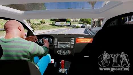 GTA 5 Nissan Pathfinder 2007 hinten rechts