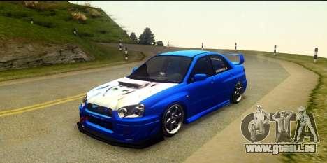 Subaru Impreza WRX STi 2004 (Virtual Diva) pour GTA San Andreas