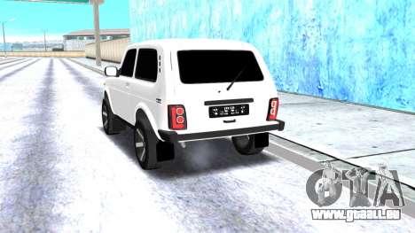VAZ 2121 Armenian pour GTA San Andreas vue de droite