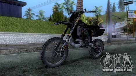Yamaha YZ 250 FMX für GTA San Andreas rechten Ansicht