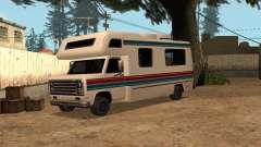 Voyage avec bande rouge et bleue pour GTA San Andreas