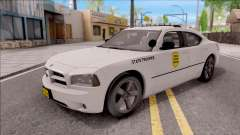Dodge Charger Silver 2007 Iowa State Patrol pour GTA San Andreas