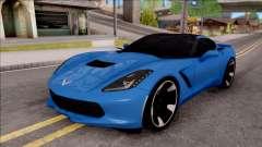 Chevrolet Corvette Stingray C7 2014 pour GTA San Andreas